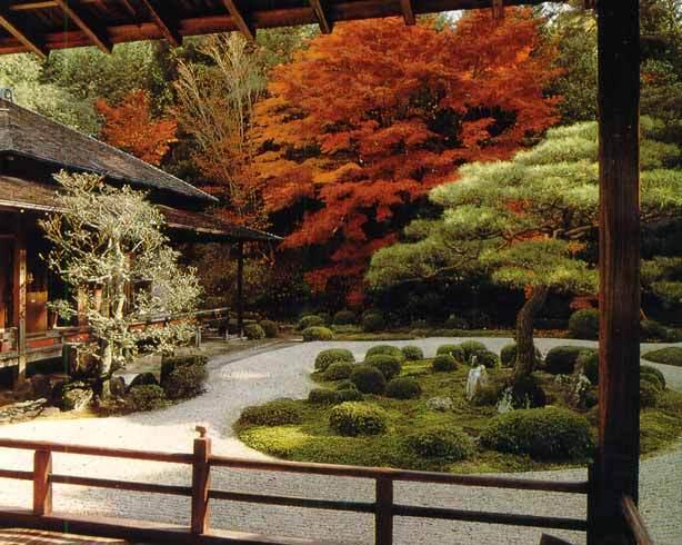 Спокойствие Японского сада